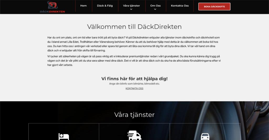 dackdirekten hemsida